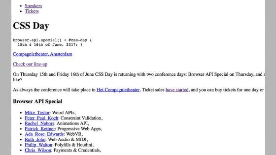 CSS Naked Day ou ficar pelado na frente do outro só para mostrar o tamanho do seu <body>