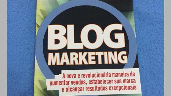 """Review e Promoção do livro """"Blog Marketing"""" de Jeremy Wright"""