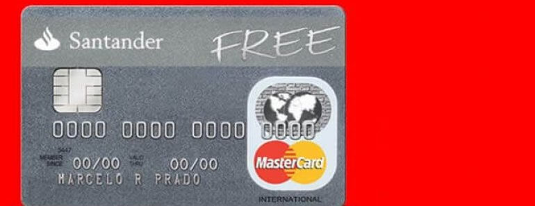 Cartão Santander Free - Como Solicitar!