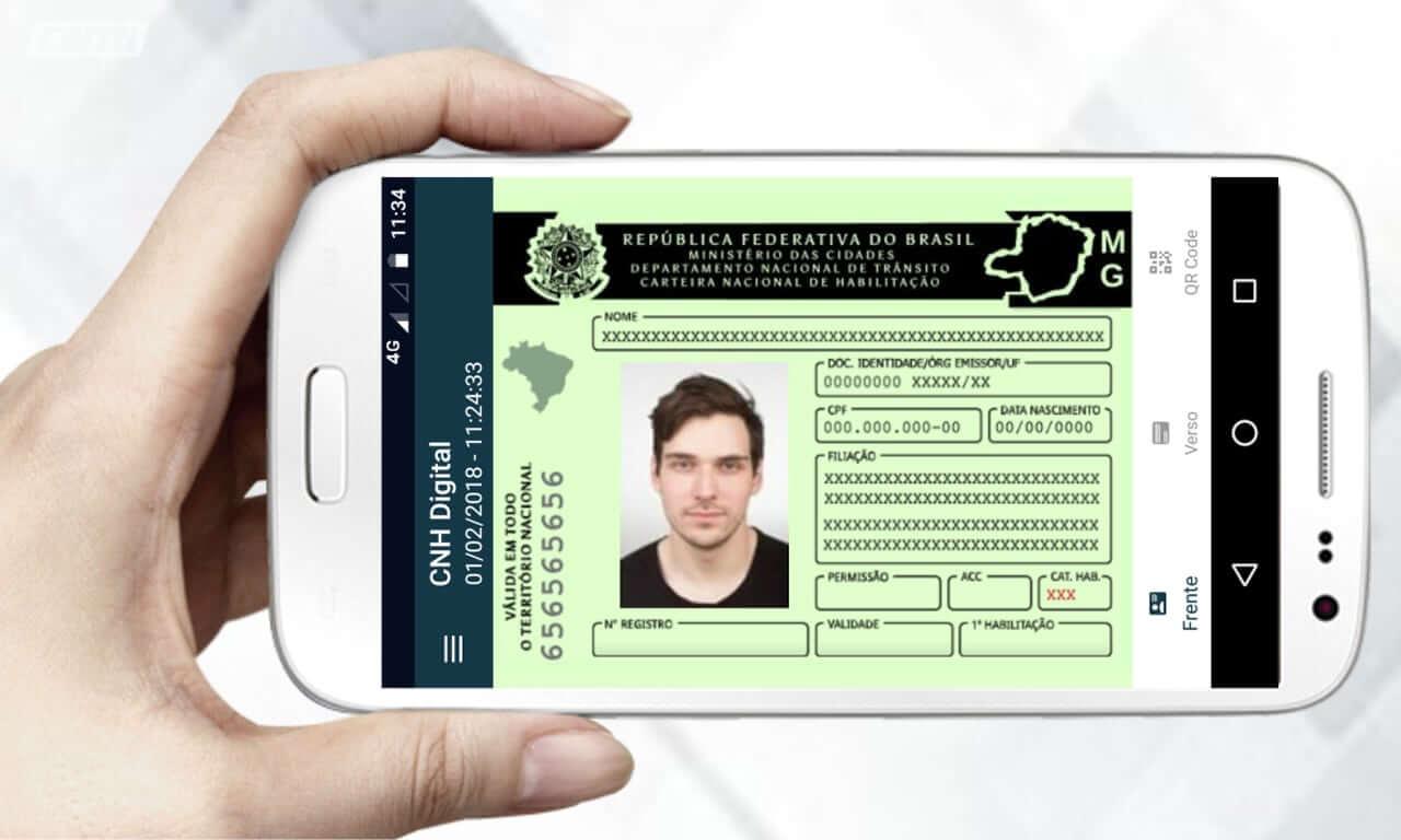 CNH digital - DETRAN libera novo aplicativo 1