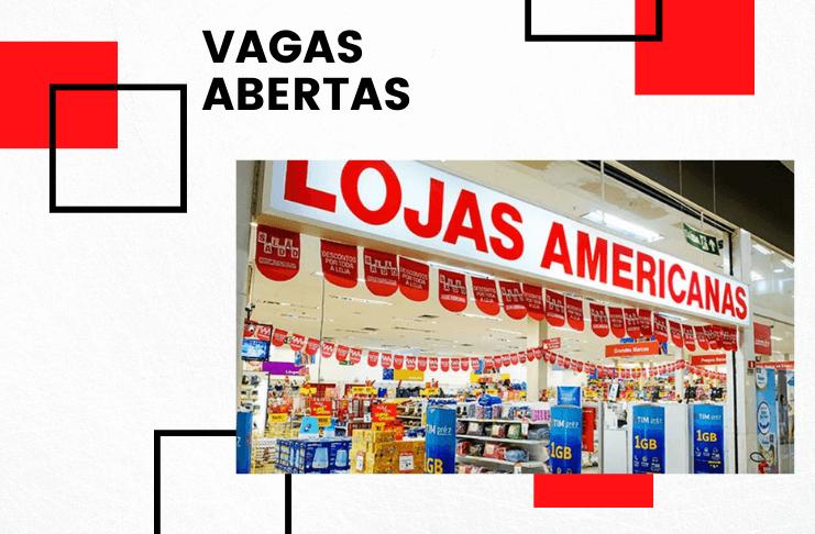 Lojas Americanas: cadastre seu currículo