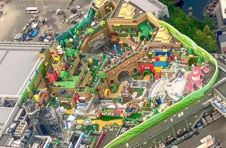 Parque da Nintendo é finalmente construído nos Estados Unidos