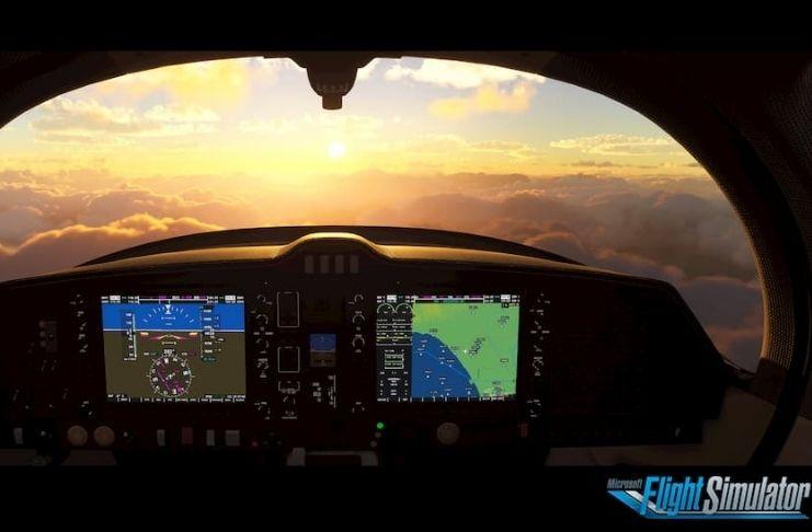 Simulador de voo Microsoft:O que você precisa para jogar