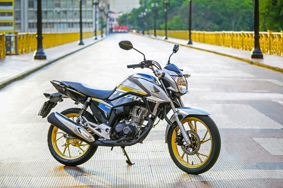 Honda CG 160 Titan ganha série limitada de 25 anos