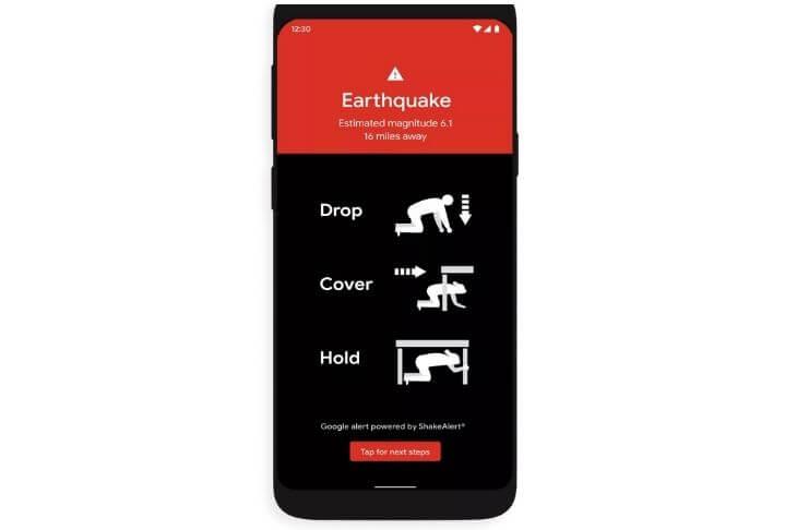Google usa telefones Android para prevenir terremotos 2