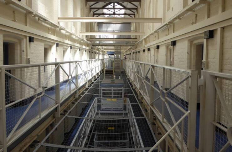 O turismo inova e prisão vira um hotel no Reino Unido 1