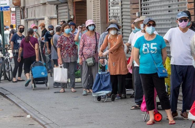 Nova York tem uma crise de fome em massa 1