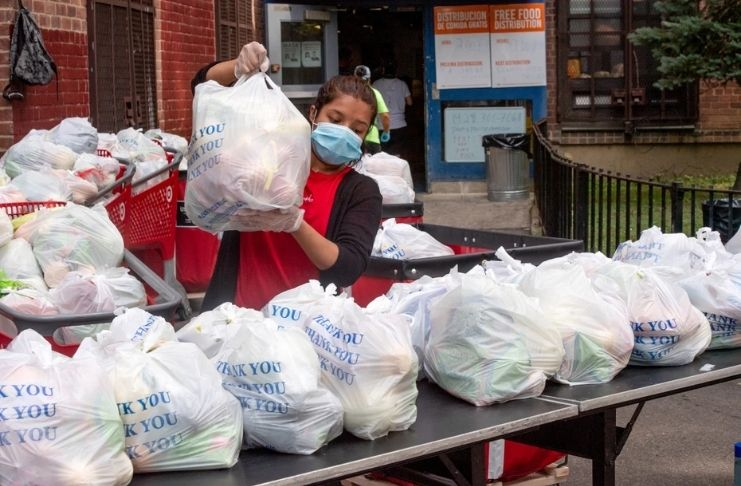Nova York tem uma crise de fome em massa 2