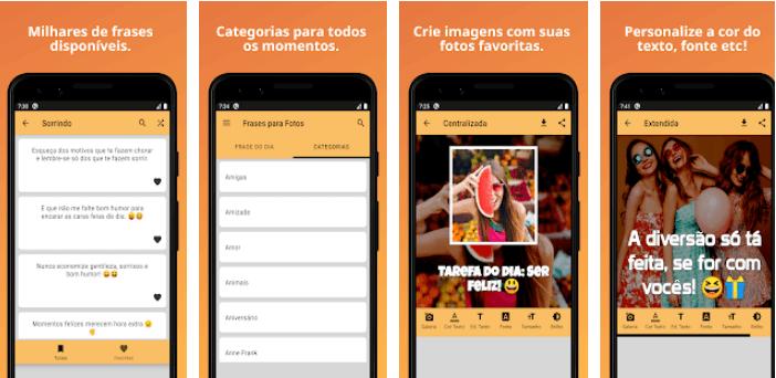 Saiba onde encontrar frases para fotos - 4 aplicativos gratuitos 2