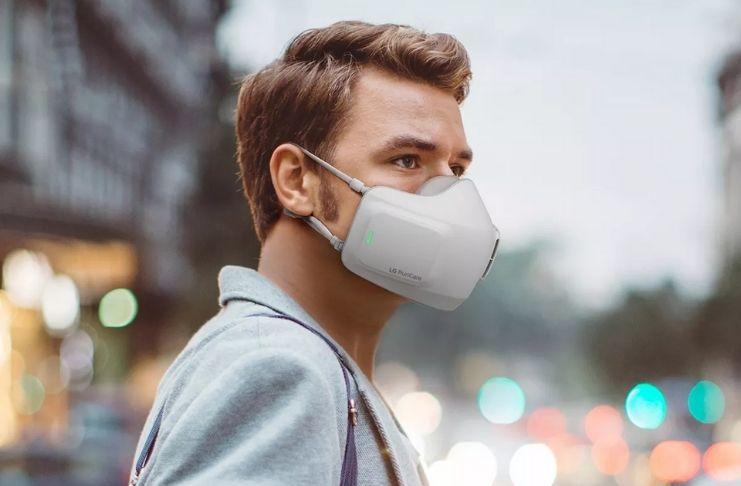 A nova máscara purificadora de ar da LG (que não ajuda no COVID-19)