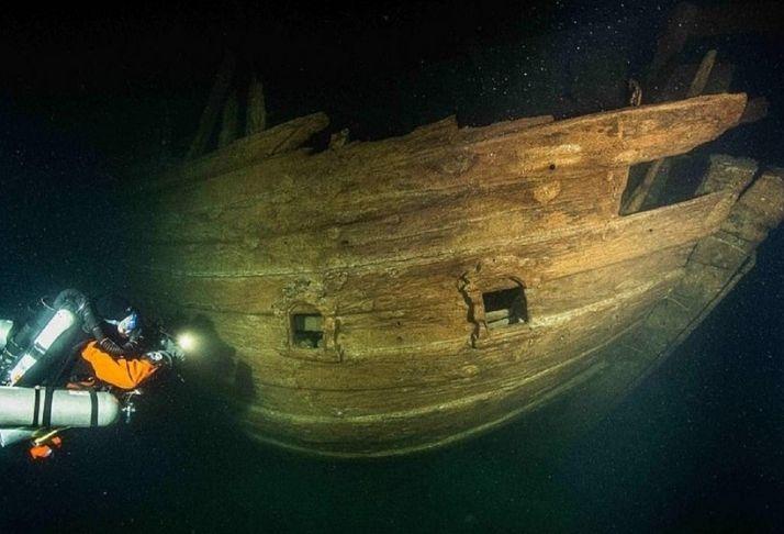 Terrivelmente bem conservado, um navio do Século XVII é encontrado no Mar Báltico