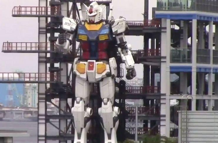 Robô de 18 metros entrou na fase de testes no Japão