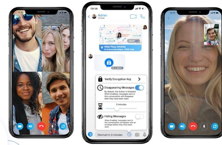 11 Características incríveis do novo app de mensagens, SnatchApp