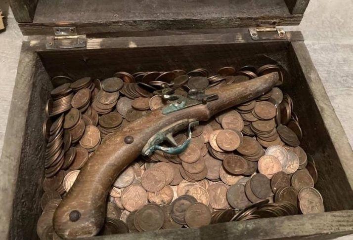 Homem organiza caça ao tesouro depois de encontrar moedas antigas no quintal