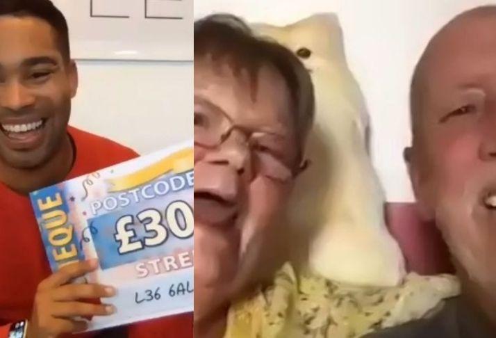 Marido e mulher ambos ganham na loteria com bilhetes diferentes