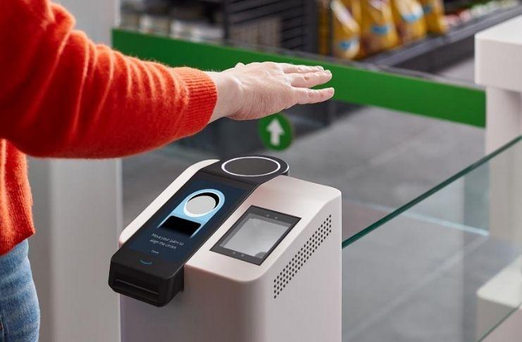 O novo sistema de pagamento da Amazon permite que você pague com suas palmas