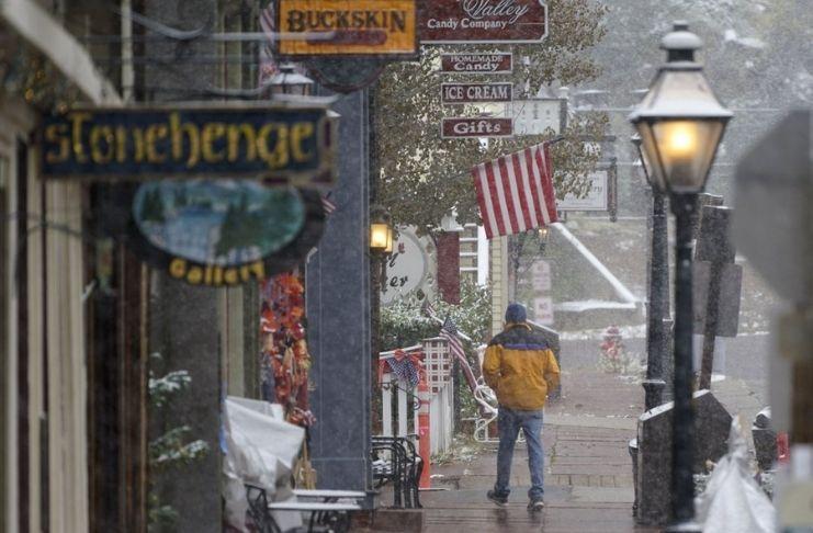 Do calor à neve: Fenômeno nos Estados Unidos