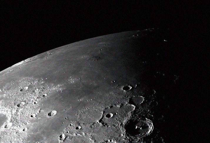 Cientistas descobrem níveis altos de radiação na Lua