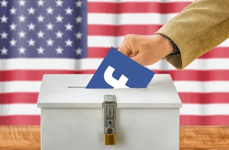 Facebook alega que páginas da China tentam interromper eleições nos EUA