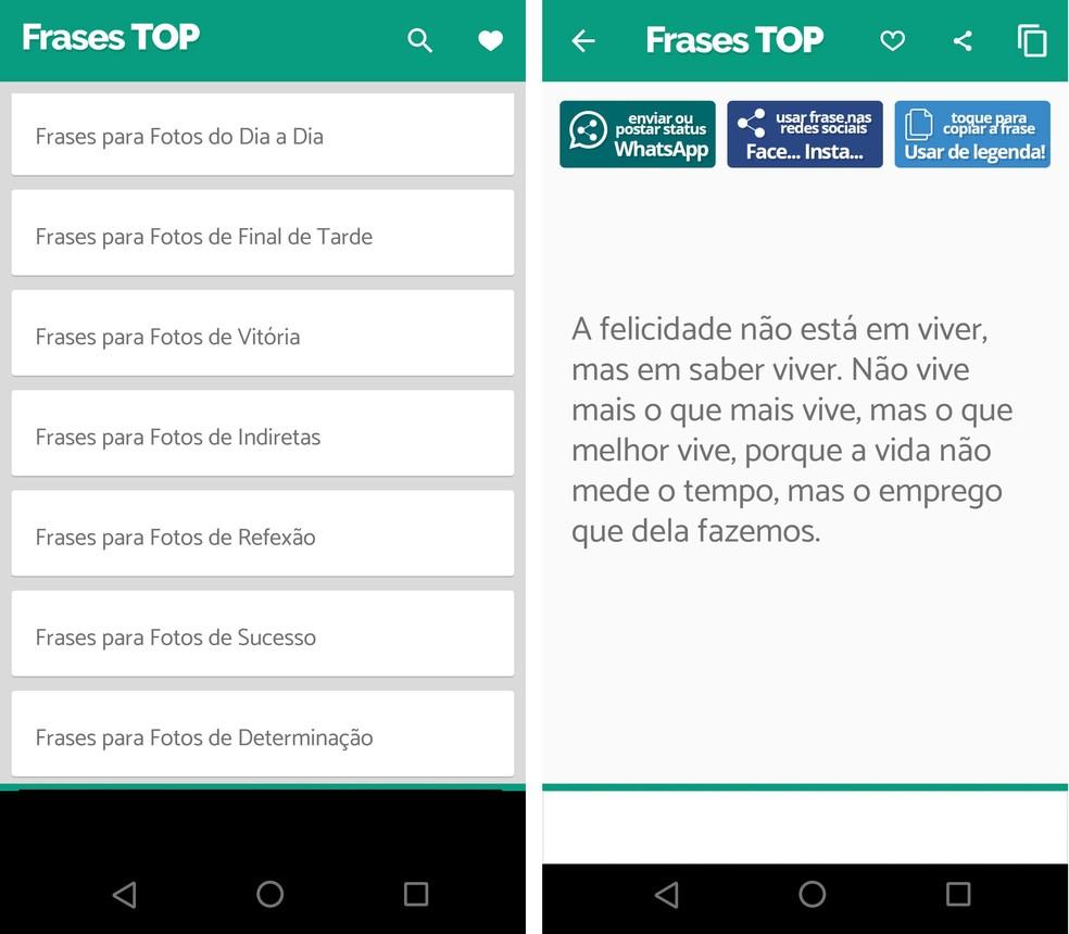 Veja onde encontrar as melhores frases para status do WhatsApp