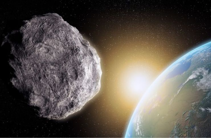 A NASA diz que um asteroide passará pela Terra na próxima semana