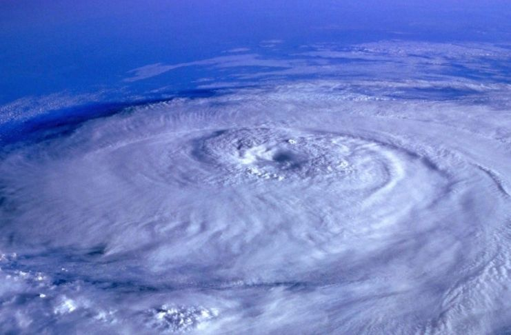Bolhas de ar podem conter um furacão?