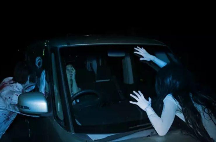 Labirinto do terror drive-in é atração de Halloween no Reino Unido