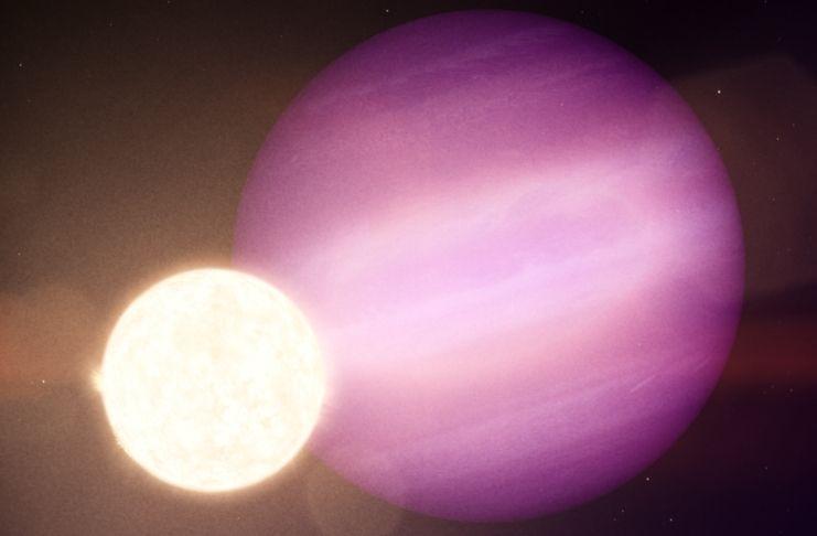 NASA encontra um planeta em órbita de seu próprio sol