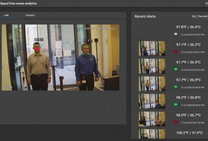 Nokia lança sistema de detecção COVID para verificar temperatura e uso de máscara