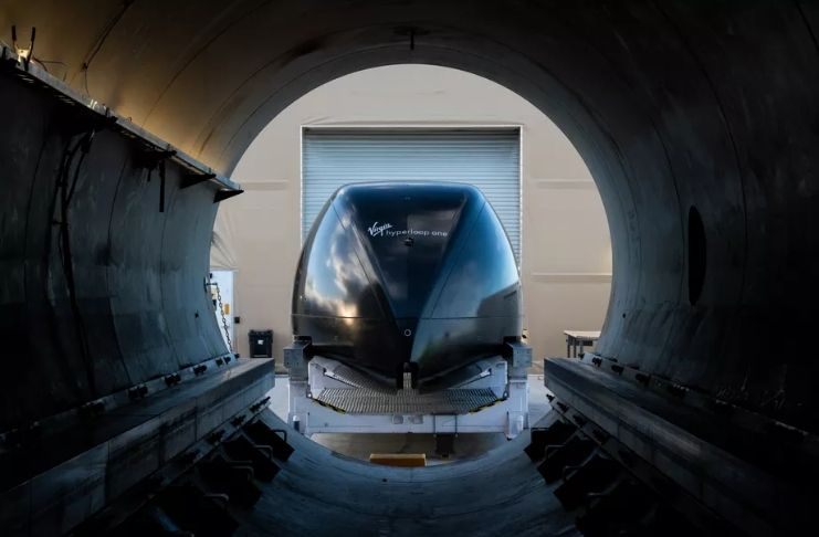 Virgin Group escolhe estado nos EUA para testar sistema de transporte futurista