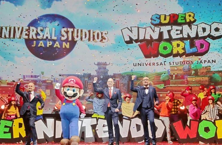 O parque Super Nintendo World abre suas portas em 2021
