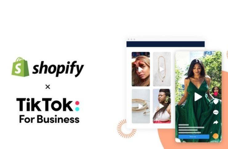 TikTok faz parceria com Shopify e adiciona recurso na plataforma