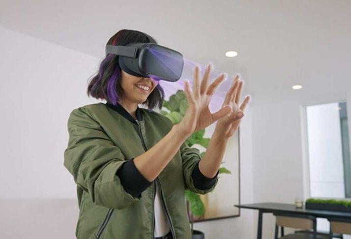 Facebook Reality Labs: Nova tecnologia que permite 'detectar' as mãos na realidade virtual