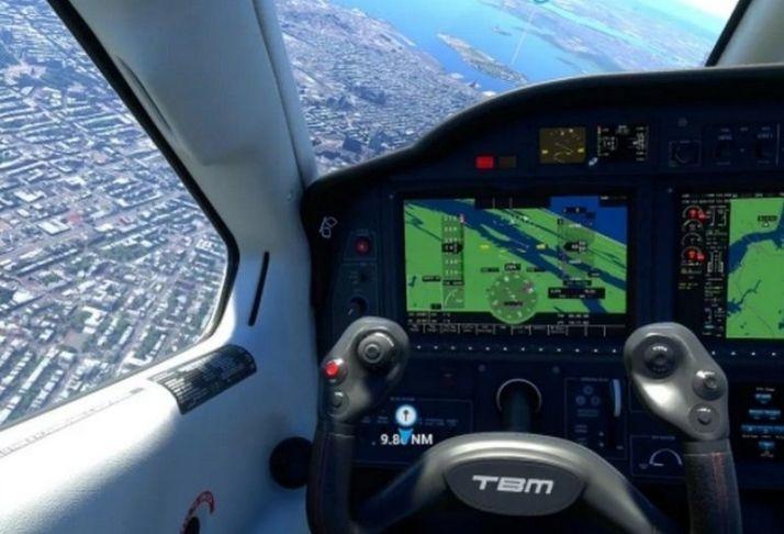 É possível testar o Microsoft Flight Simulator em VR