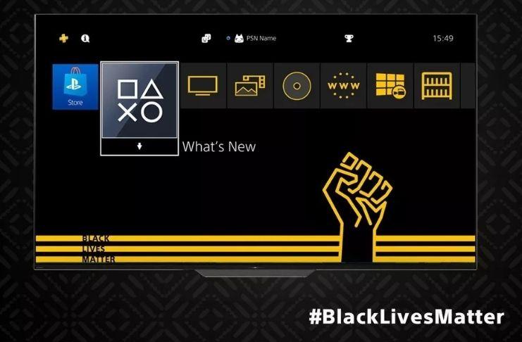 Sony lança tema 'Black Lives Matter' para consoles PS4