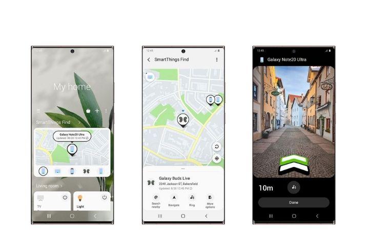 Samsung lança o SmartThings Find, recurso para localizar equipamentos Galaxy