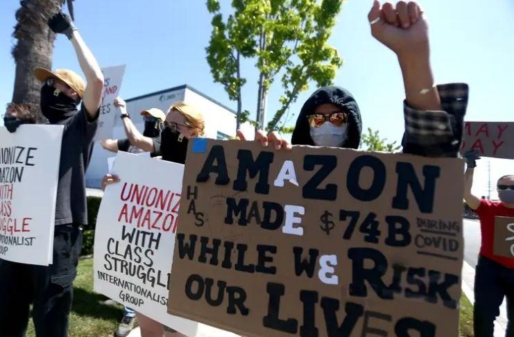 Memorando confidencial da Amazon revela software para rastrear sindicatos