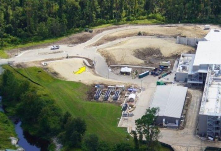 Twitter revela imagens aéreas da construção do Star Wars Hotel
