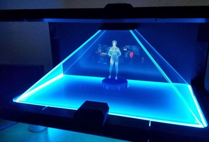 Hologramas para todos: Empresa arrecada milhões para futuro projeto