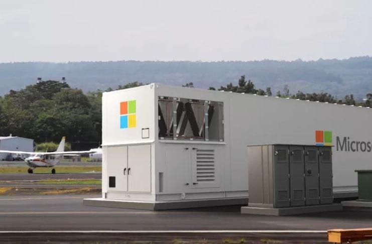 Microsoft: Novo centro de dados portátil para atender lugares remotos
