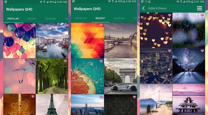 Como encontrar os melhores wallpapers para celular