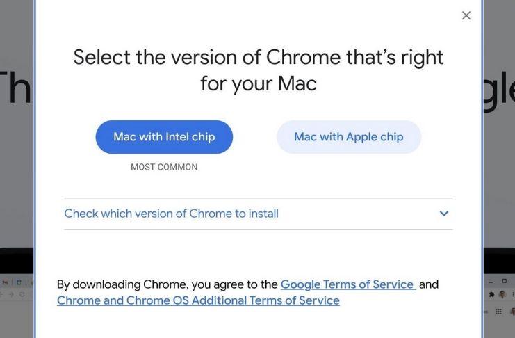 Mac Silicon recebe versão especial do Google Chrome