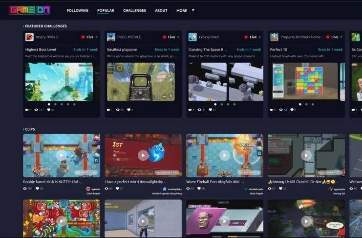 GameOn: Nova rede social para gamers da Amazon