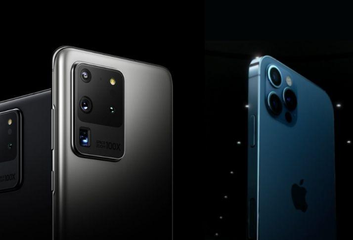 Apple X Samsung: iPhone 12 bate o Galaxy S20 em teste de velocidade