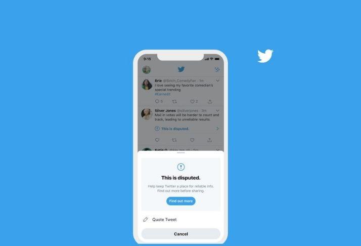 Atualização do Twitter avisa os usuários sobre tweets enganosos