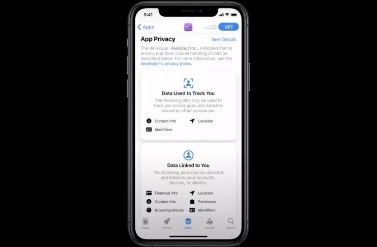 """Apple exigirá que apps adicionem """"rótulos"""" de privacidade até o final do ano 3"""