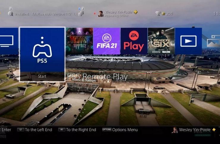 Novo aplicativo Remote Play permite que usuários transmitam jogos PS5 para PS4