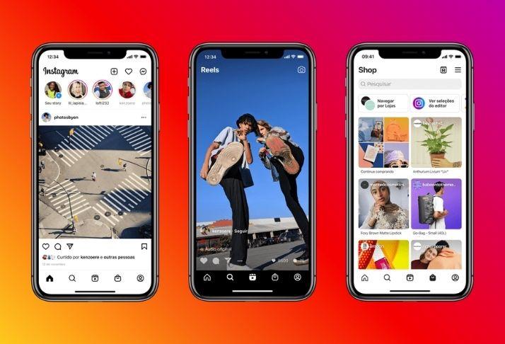 Instagram muda layout de sua página pela primeira vez em anos