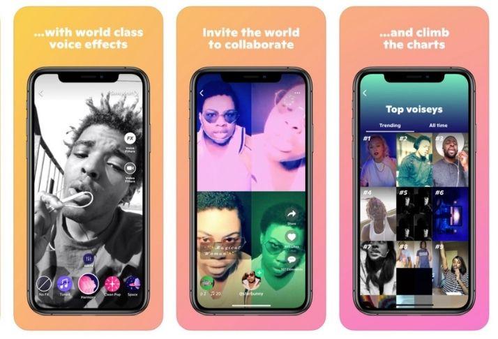 Snapchat adiciona Voisey ao catálogo, um app de faixas musicais
