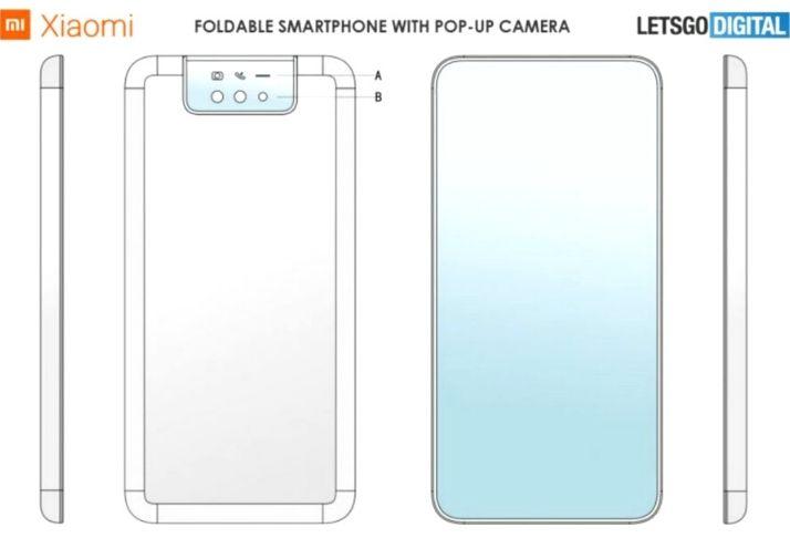 O novo smartphone flip da Xiaomi pode vir com uma câmera pop up